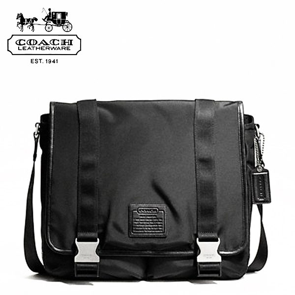 From the COACH men Messenger bag is in stock now! It is featured in Pocket  while slim and easy to organize your luggage. Gunmetal color hardware  shines in ... d59ecccbb324c