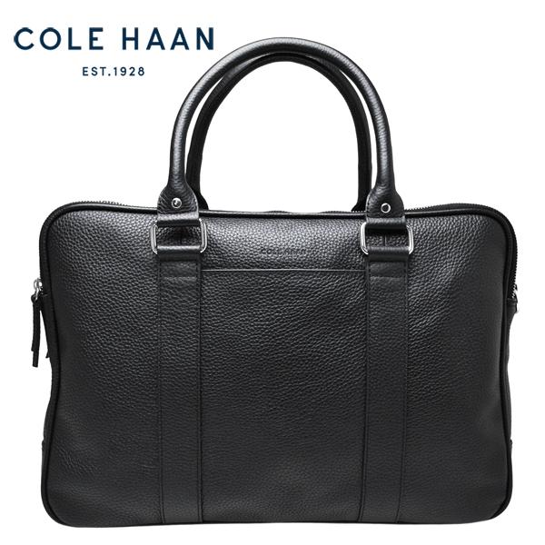 コールハーン Cole Haan ブリーフケース メンズ 本革 レザー 2WAY ビジネスバッグ 黒 ブラック【F10112】【送料無料】