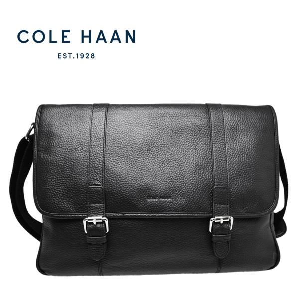 コールハーン メッセンジャー バッグ Cole Haan メンズ 本革 レザー ショルダーバッグ【F10115】【WAYLAND MESSENGER】【送料無料】