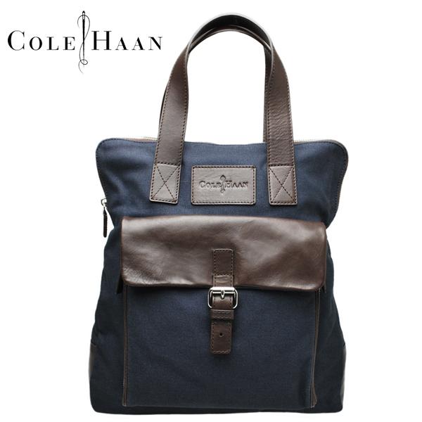 コールハーン トートバッグ Cole Haan メンズ 本革 レザー キャンバス 鞄 A11169 男女兼用