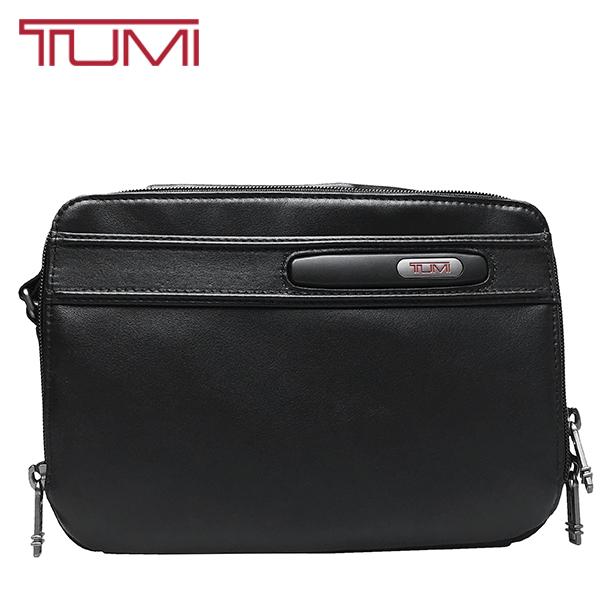トゥミ メンズ ブランド セカンドバッグ 送料無料 TUMI レザー 注文後の変更キャンセル返品 黒 ブラック 本革 人気 おすすめ クラッチバッグ ポーチ