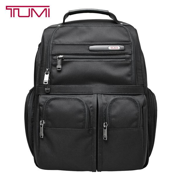 TUMI バックパック 26173 復刻 トゥミ リュックサック PC収納 バッグ 黒 ブラック【263173 D4】【コンパクト ラップトップ ブリーフ パック】【送料無料】
