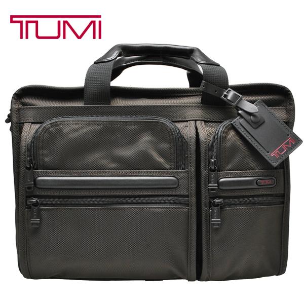 TUMI ブリーフケース 26141 トゥミ ビジネスバッグ G4.4 PC収納 2WAY 拡張可能 ブラウン 茶 26141 B4 EXPANDABLE ORGANIZER COMPUTER BRIEF エクスパンダブル オーガナイザー コンピューター