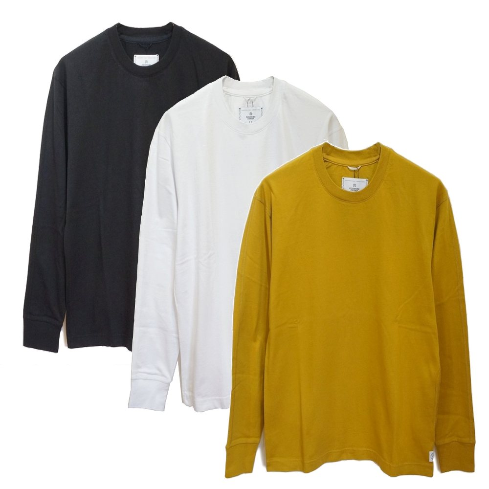 REIGNING CHAMP(レイニング チャンプ)MIDWEIGHT JERSEY RELAXED LONG SLEEVE ミッドウェイト ジャージー ロングスリーブ Tシャツ【RC-2192】
