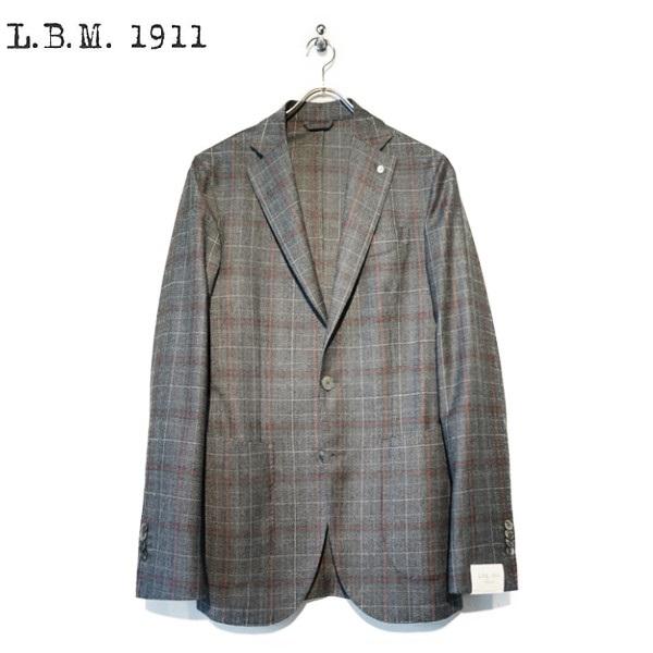L.B.M 1911(エルビーエム)グレンチェック 2Bジャケット 【9L29865003】