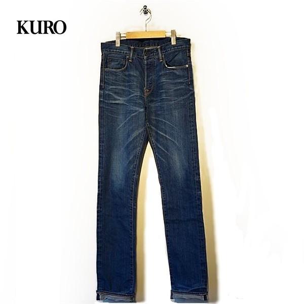 [送料無料]KURO(クロ) メンズ 5ポケットジーンズ Diamante Vintage Wash 02 ディアマンテ ヴィンテージウォッシュ02 【960744】