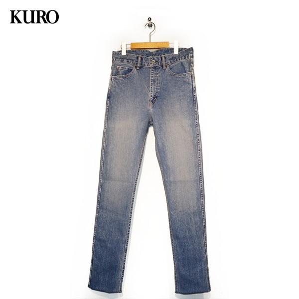 【送料無料】KURO(クロ) メンズ 5ポケットジーンズ GRAPHITE HERITAGE WASH グラファイト ヘリテージウォッシュ 【961780】