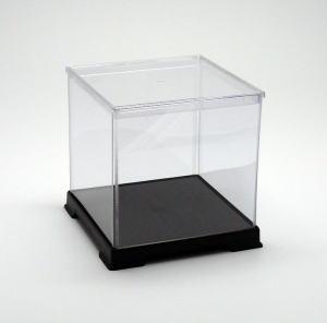 フィギュアケース ディスプレイケース コレクションケース 人形ケース 折りたたみ式ケース 横幅50×奥行50×高さ50(cm) 透明プラ