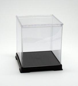 サイズ一覧可能 お買い得品 最安値 フィギュアケース ディスプレイケース コレクションケース プラスチックケース 横幅18×奥行18×高さ20 cm 折りたたみ式ケース 超激安 透明プラ 人形ケース