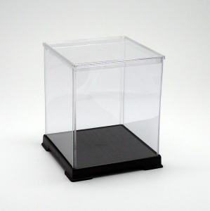 サイズ一覧可能 最安値 フィギュアケース ディスプレイケース コレクションケース プラスチックケース フィギュアケース ディスプレイケース コレクションケース 人形ケース 折りたたみ式ケース 横幅27×奥行27×高さ32(cm) 透明プラ