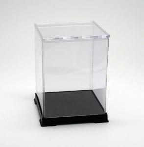フィギュアケース ディスプレイケース コレクションケース 人形ケース 折りたたみ式ケース 横幅12×奥行12×高さ16(cm) 透明プラ