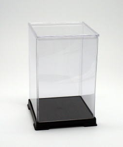 サイズ一覧可能 最安値 フィギュアケース ディスプレイケース コレクションケース プラスチックケース 透明プラ 即納最大半額 超人気 cm 横幅21×奥行21×高さ32 折りたたみ式ケース 人形ケース