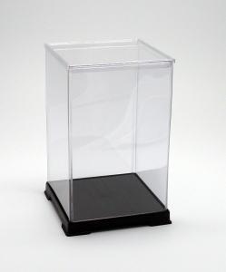 フィギュアケース ディスプレイケース コレクションケース 人形ケース 折りたたみ式ケース 横幅50×奥行50×高さ80(cm) 透明プラ