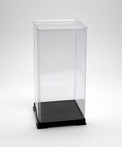 サイズ一覧可能 最安値 フィギュアケース ディスプレイケース コレクションケース 超激安特価 プラスチックケース 2020新作 折りたたみ式ケース 横幅18×奥行18×高さ40 cm 人形ケース 透明プラ