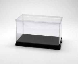 フィギュアケース ディスプレイケース コレクションケース 人形ケース 折りたたみ式ケース 横幅30×奥行18×高さ18(cm) 透明プラ