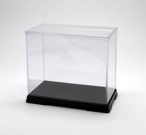 フィギュアケース ディスプレイケース コレクションケース 人形ケース 折りたたみ式ケース 横幅50×奥行32×高さ45(cm) 透明プラ