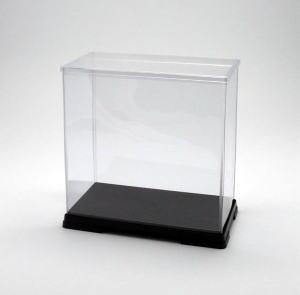 フィギュアケース ディスプレイケース コレクションケース 人形ケース 折りたたみ式ケース 横幅50×奥行32×高さ55(cm) 透明プラ