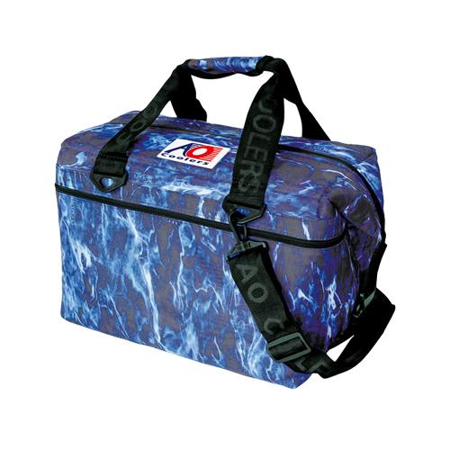 エーオークーラー(AO coolers) ソフトクーラー 24パック キャンパス ソフトクーラー(モッシーオークブルーフィン) aoelbf24 クーラー ジャグ 保冷剤 キャンプ アウトドア