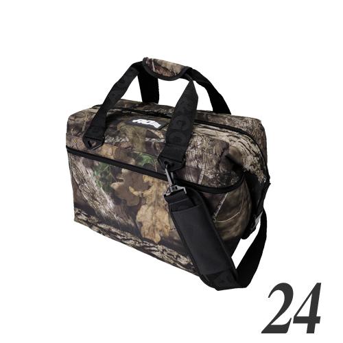 エーオークーラー(AO coolers) 24パック キャンパス ソフトクーラー(モッシーオーク) 保温 保冷 アウトドア キャンプ AOMO24 [RS0921]
