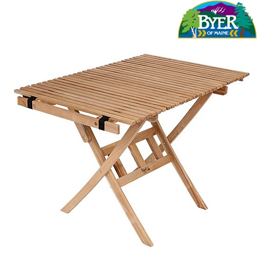バイヤーオブメイン(Byer of Maine) フォールディングテーブル パンジーン ロールトップテーブル /バイヤーオブメイン 12410072000000 ファニチャー(テーブル イス) テーブル 机 キャンプ アウトドア