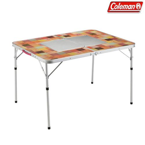 Coleman(コールマン) ナチュラルモザイク BBQテーブル/110プラス