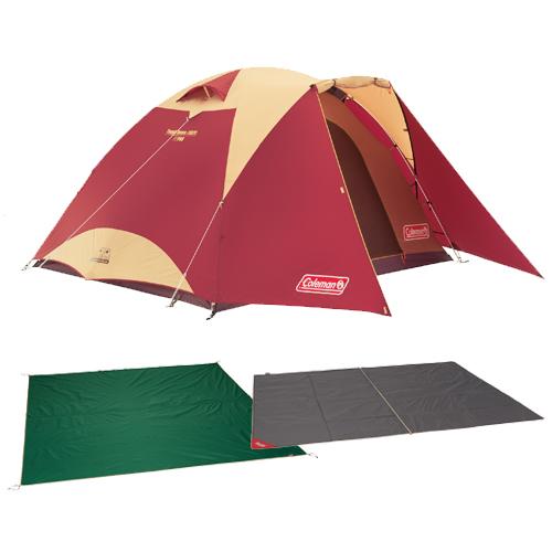 Coleman(コールマン) タフドーム/3025 スタートパッケージ(バーガンディ) テント ドーム型 4~5人用 セット キャンプ アウトドア
