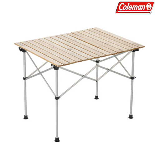 Coleman(コールマン) ナチュラルウッド ロールテーブル/90 キャンプ アウトドア