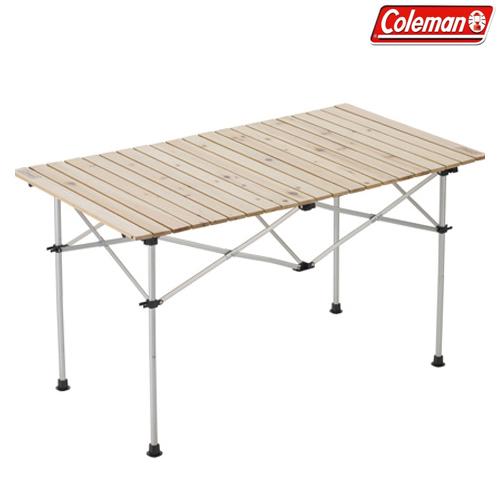 Coleman(コールマン) ナチュラルウッド ロールテーブル/120 キャンプ アウトドア