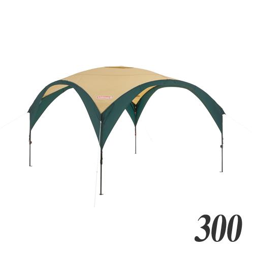 Coleman(コールマン) パーティーシェードDX/300 (グリーン/ベージュ) キャンプ アウトドア