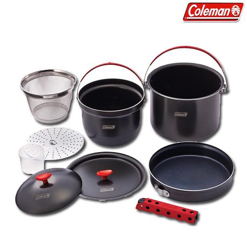 コールマン(Coleman) クッカー(鍋)セット アルミクッカーコンボ 2000026764 調理用品 食器類 クッカー(鍋) 調理器具 キャンプ アウトドア