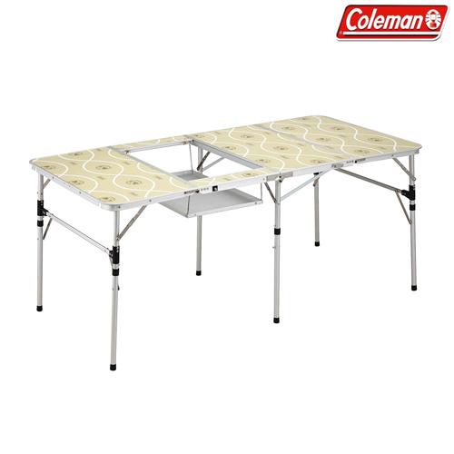 Coleman(コールマン) スリム四折BBQテーブル テーブル 机 バーベキュー 折りたたみ