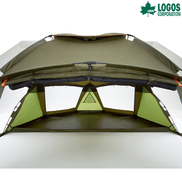 LOGOS(ロゴス) デカゴン ハーフグランドシート テント タープ テントシート マット テント タープ タープ キャンプ アウトドア
