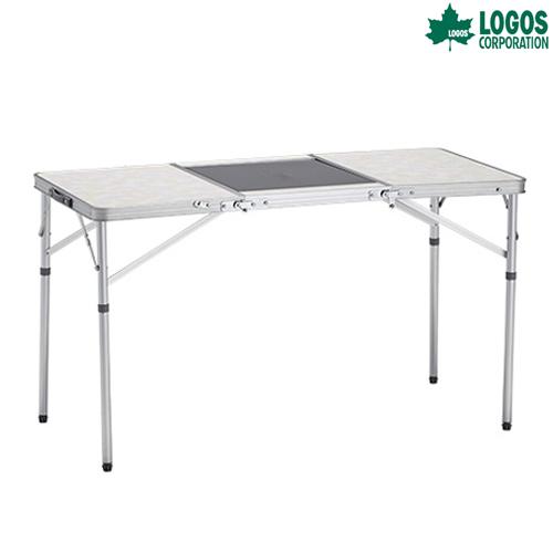 LOGOS(ロゴス) 3FD BBQテーブル12060-AF (メイプル) ファニチャー テーブル キャンプ アウトドア