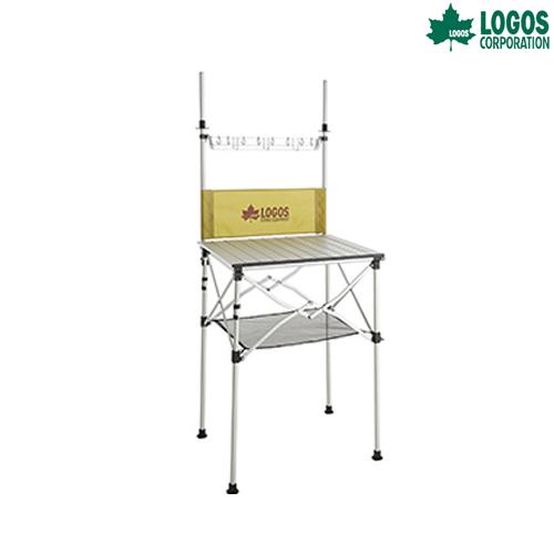 LOGOS(ロゴス) smart LOGOS kitchen クックテーブル(風防付き) ファニチャー システムキッチン キャンプ アウトドア