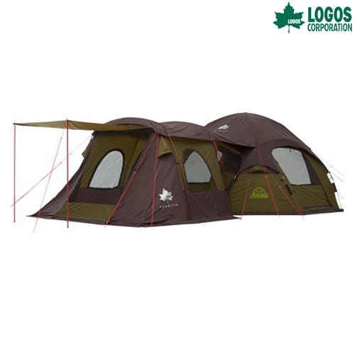 LOGOS(ロゴス) プレミアム オクタゴン ルームプラス テント キャンプ アウトド