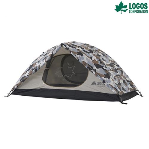 LOGOS(ロゴス) SOLOドーム(カモフラ) テント キャンプ アウトドア ツーリング
