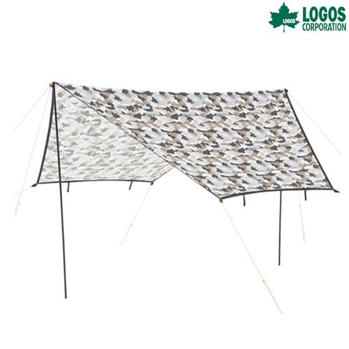 ロゴス(LOGOS) ヘキサタープ ツーリングタープ(カモフラ) 71808026 テント タープ キャンプ アウトドア