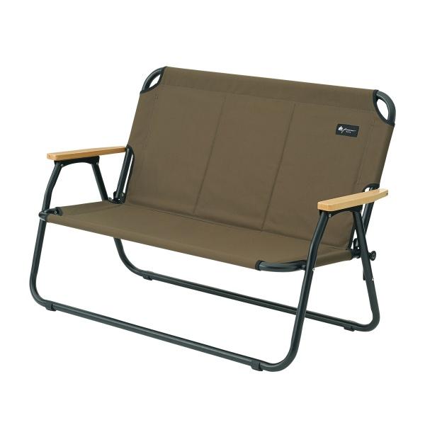 LOGOS(ロゴス) グランベーシック チェアfor 2 椅子 ベンチ キャンプ アウトドア