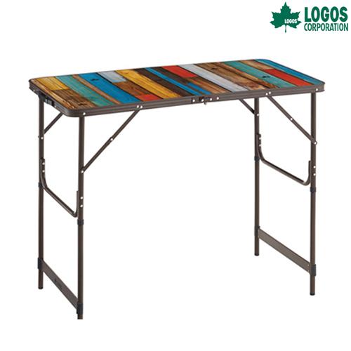 LOGOS(ロゴス) グランベーシック 丸洗いカウンター テーブル キャンプ アウトドア