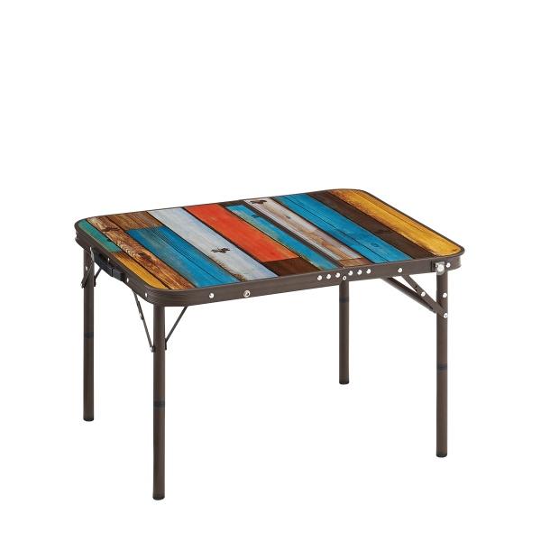 ロゴス(LOGOS) フォールディングテーブル グランベーシック 丸洗いスリムサイドテーブル7060 73189035 ファニチャー(テーブル イス) テーブル 机 キャンプ アウトドア