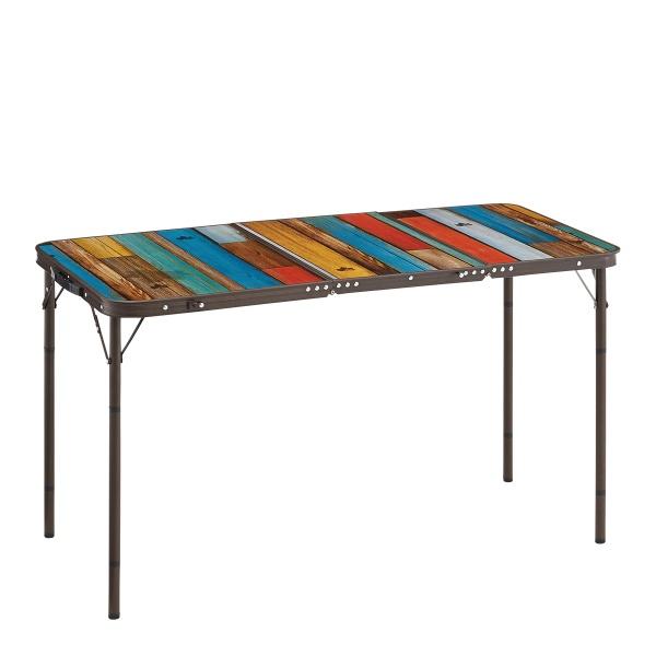 LOGOS(ロゴス) グランベーシック 丸洗い3FDスリムテーブル キャンプ アウトドア