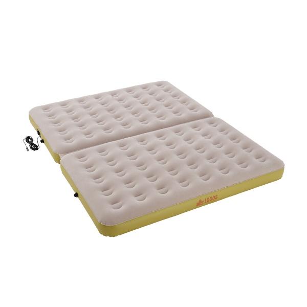 LOGOS(ロゴス) 楽ちんオートキャンプベッド270(10mロングコード) エアベッド マット 寝具 キャンプ アウトドア