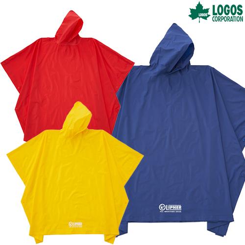LOGOS(ロゴス) PVCポンチョ ウエア レインウェア レインウエア カッパウエア ポンチョ キャンプ アウトドア