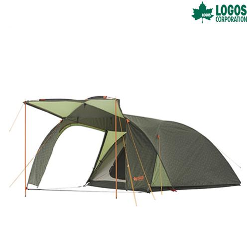 LOGOS(ロゴス) neos PANELシビックドーム L-AH テント タープ キャンプ アウトドア 71805030