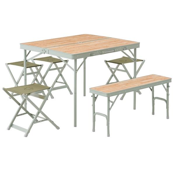 LOGOS(ロゴス) LOGOS Life ベンチテーブルセット6 ファニチャー テーブルセット キャンプ アウトドア 73183014