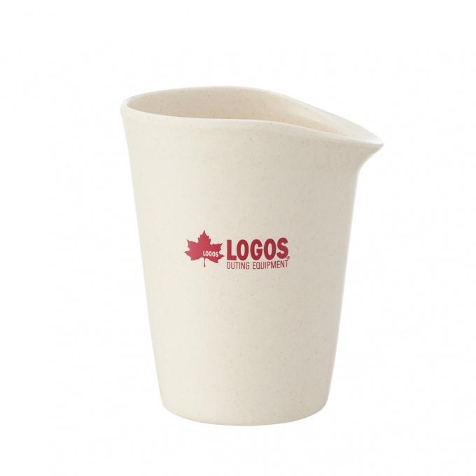 LOGOS(ロゴス) バイオプラント立つコップ4 バーベキュー クッカー 食器 ボトル キャンプ アウトドア 81284800[GD]