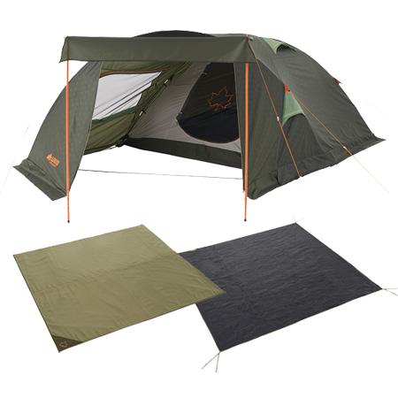 LOGOS(ロゴス) NEOS リビングプラス・PLR XL スペシャル3点セット テント シート マット キャンプ アウトドア