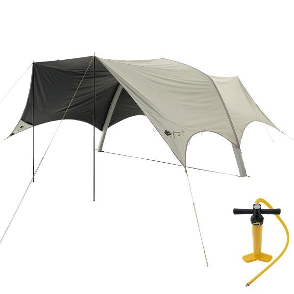 LOGOS(ロゴス) グランベーシック エアマジック ソーラーブロック タープ-AI テント タープ キャンプ アウトドア 71805535