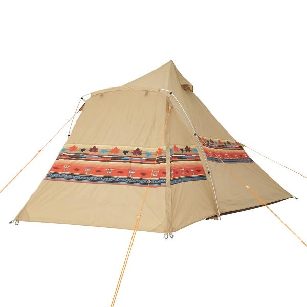 ロゴス(LOGOS) キャンプ用テント(3~5人用) ナバホEX Tepeeリビング400-AI 71806520 テント タープ キャンプ用テント キャンプ アウトドア