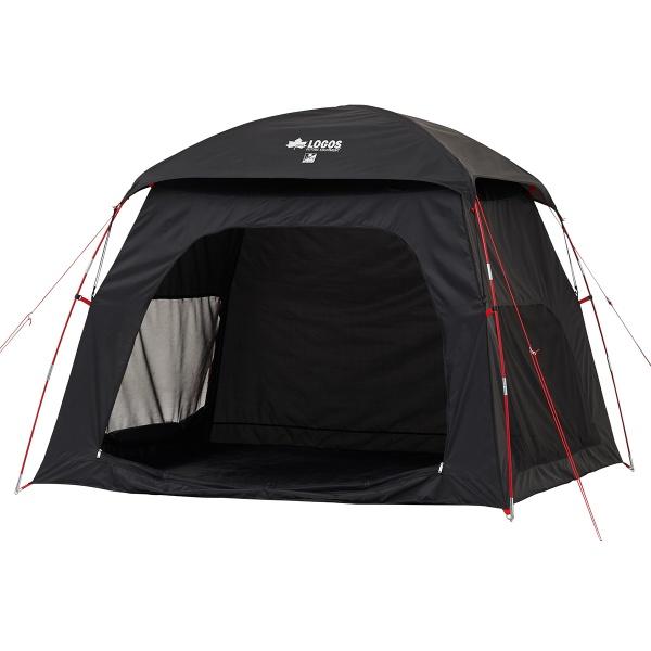 LOGOS(ロゴス) Black UV スクリーンシェードM-AI テント タープ サンシェード ビーチ 着替え シャワー パラソル キャンプ アウトドア 71809032
